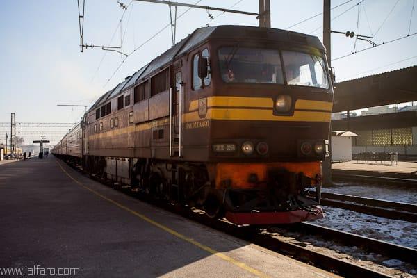 Estación de Tren - Riga