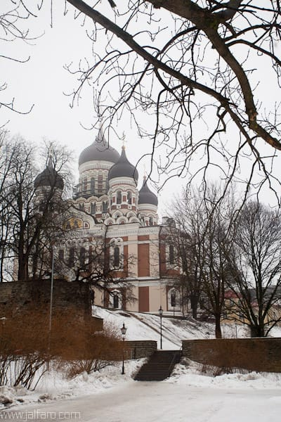 Iglesia Ortodoxa de Tallin