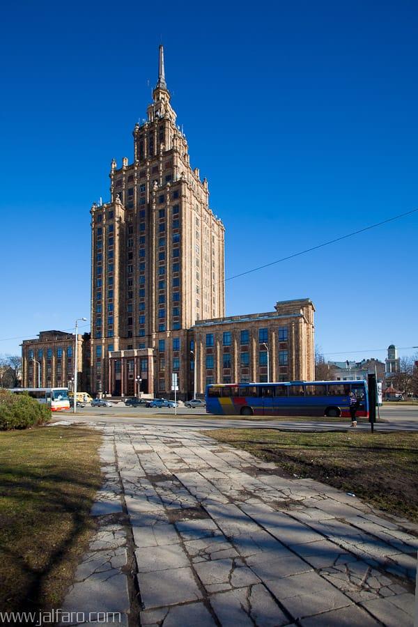 Academia de las Ciencias - Riga