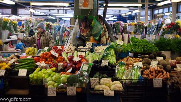 Mercado de abastos en Riga