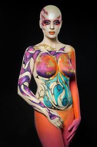 Body Paint - Aarón Blanco