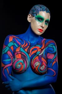 Body Paint - Aarón Blanco