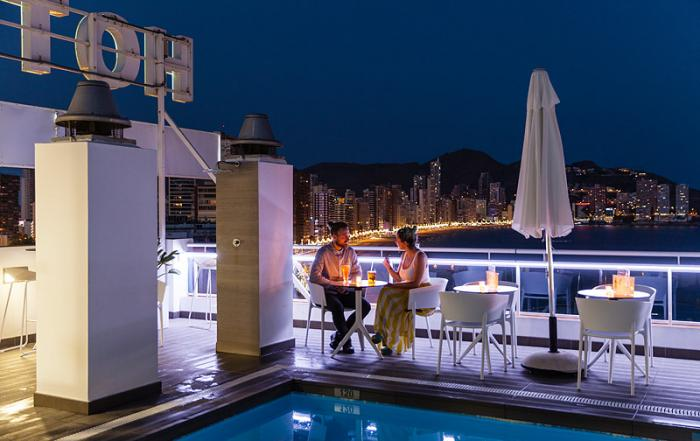 Fotos arquitectura   Hotel Centro Mar Benidorm