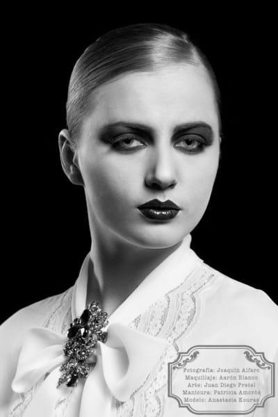 fotografía de maquillaje