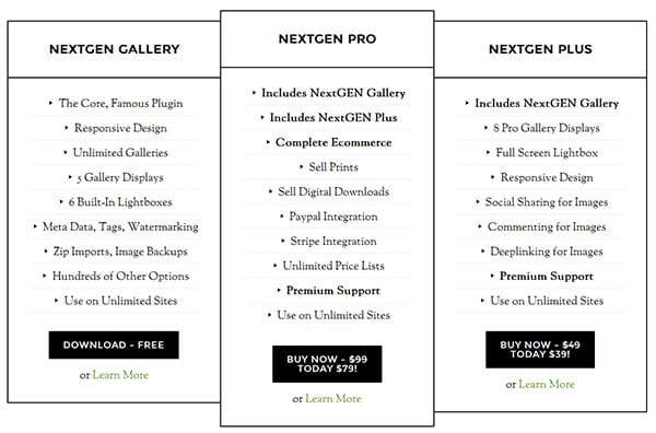 NextGEN Gallery Plus (II)
