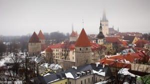 Vista panoramica Tallin