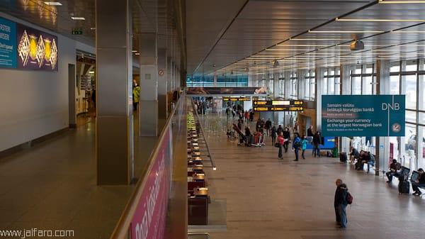 Aeropuerto de Riga, Letonia