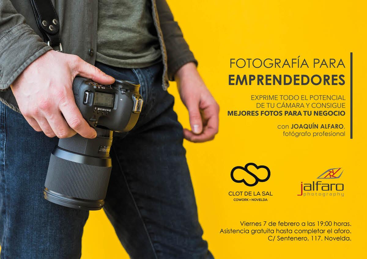 Charla-Taller: Fotografía para Emprendedores