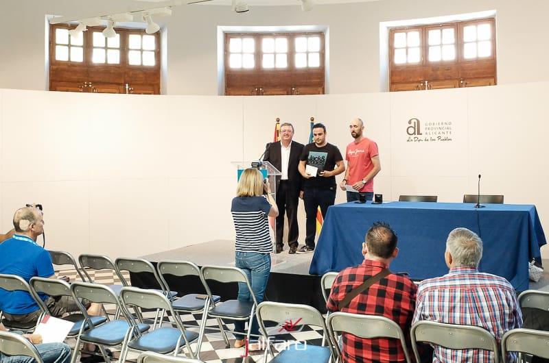 Entrega de premios Fotobomberos