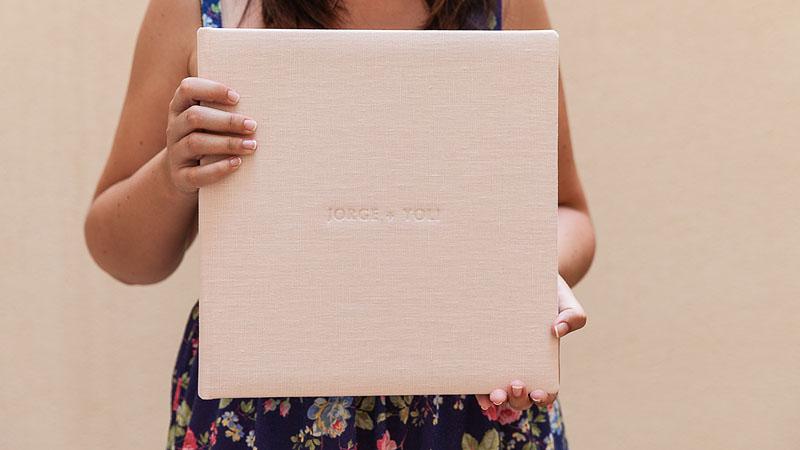 Álbumes de boda cuadrados