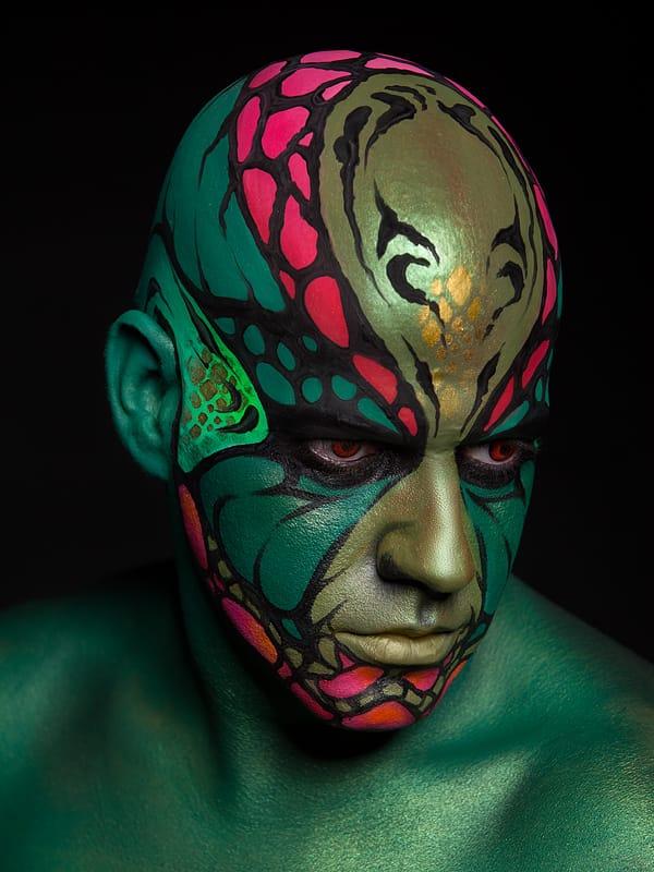 Maquillaje Artístico por Aarón Blanco