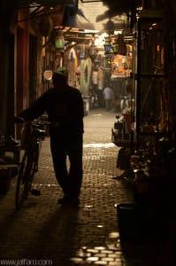 Interior de la Medina de Marrakech