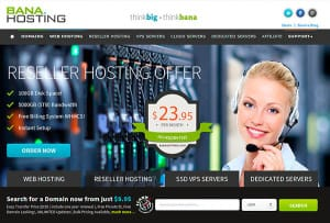 Hosting Web - BanaHosting