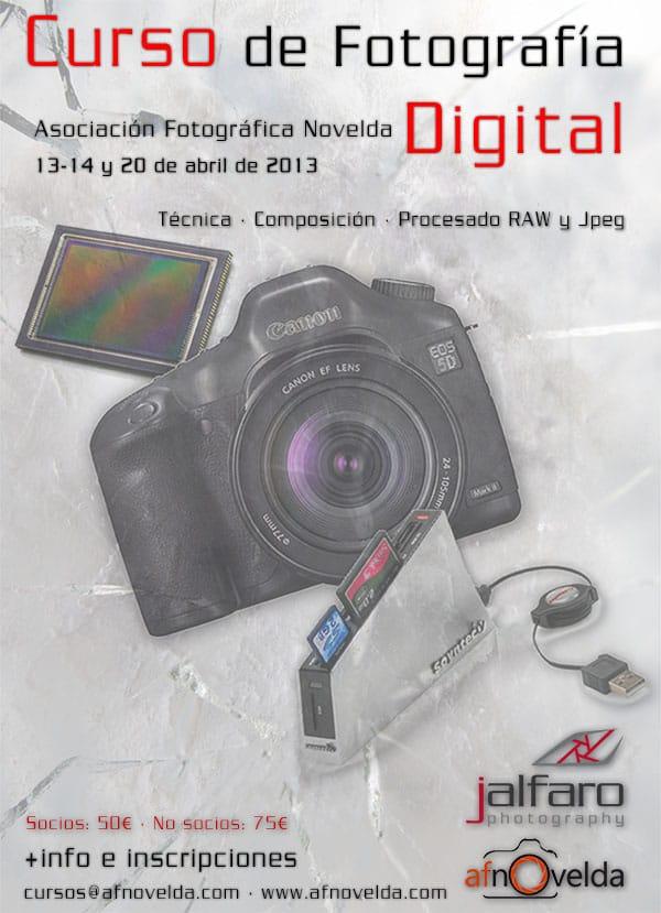 Curso de Fotografia Digital en AFNovelda