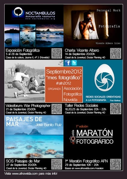 """Mes fotográfico"" de la AFNovelda"