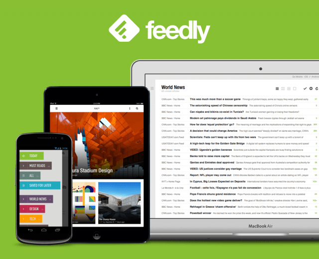 Feedly - Lector RSS