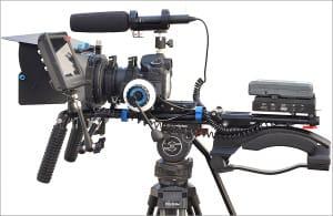 Grabación de vídeo DSLR